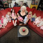 Woman Collects Realistic Dolls, Treats Them Like Real Babies!