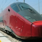Ferrari's heritage evident in the Italo high-speed train!