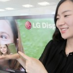 LG unveils five-inch full HD smartphone display