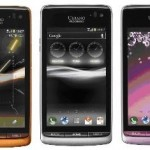 New Kyocera smartphone transmits sound through vibrating screen.