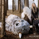Creative Advertising:Lindsey Wixson stars in Mulberry's autumn/winter 2012 campaign!