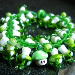 Super Mario 1Up Mushroom Charm Bracelet!
