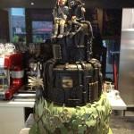 Alien Loves Predator Wedding Cake!