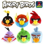 Angry Birds Space Plushies!