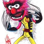 Super Geektastic Muppet/ X-Men Mash-Up From Ken Haeser!
