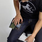 DELTA415 Wearcom Jeans made for Smartphone with a Transparent Display!