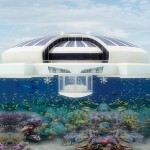 Concept of Solar Floating Moveable Resort!