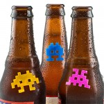 Silicon Space Invaders Drink Markers Invade Your Beer!