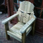 Custom Stormtrooper Lawn Chair for Relax in Summer!
