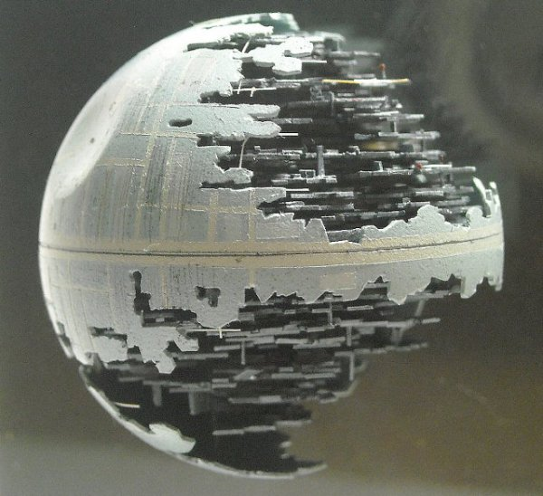 Lil' Death Star Created Using a Ping Pong Ball!