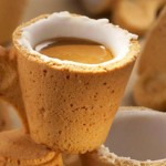 Cookie Cup: First Drink the Coffee and Then Eat the Cup!