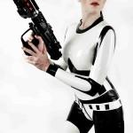 Strormtrooper Inspired Skin Tight Latex Dresses!