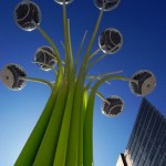 Solar Trees designed for clerkenwell design week!