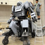 Giant Robot made in Japan With Gatling Guns!