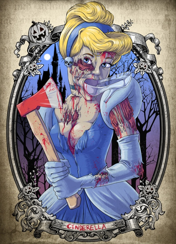 Zombified Disney Princess – Make You Scare!