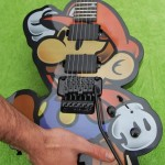 Super Mario Themed Guitar – Now Play the Theme of Mario on it!