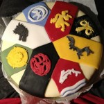 Games of Thrones Cake With House Sigils – Awesome!