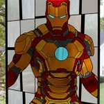 Iron Man Stained Glass Window – It's Amazing!