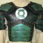 Custom Hand Made Green Leather Lantern Armor!