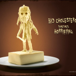 Movie Villains Made From Butter, Chocolate and Cheese and Show That How Cholesterol Kill!