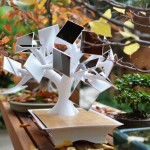 Solar Harvesting Bonsai Charges Gadgets Through Induction!