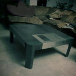 Floppy Disk Becomes the Coffee Table!