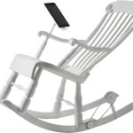 The Stylish iRock : The Rocking Chair Charges Your iDevice!