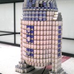 Geeky R2 – D2 Rebuilt With Cans – Awesome!