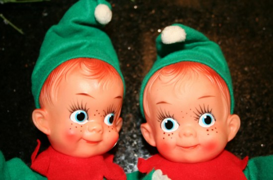 share this - Creepy Christmas Decorations