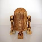 Incredible R2-D2 Wooden iPhone Dock  – It's a Unique Design!