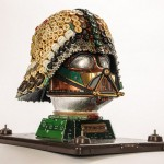 Recycled Darth Vader Mask By Gabriel Dishaw!