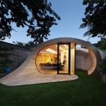 Modern Office Made in the Shape of Cresting Wave Called Shoffice Project!