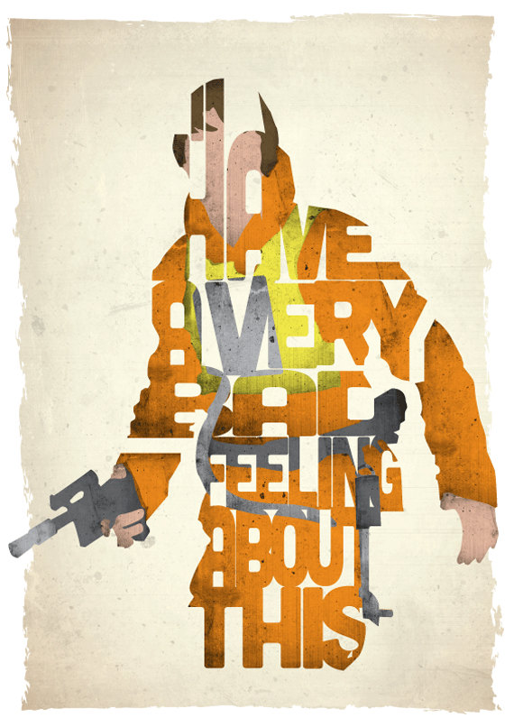 Famous Movie Quotes in the Form of Iconic Characters From Films!
