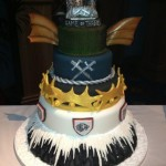 "Incredible ""Game of Thrones Cakes"" Made For Wrap Party!"