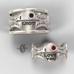 Star Wars Wedding Rings For Geek Lovers Who Wants Geek Wedding!
