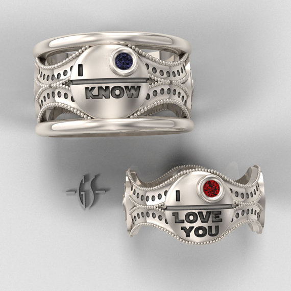 Geeky Wedding Rings 1