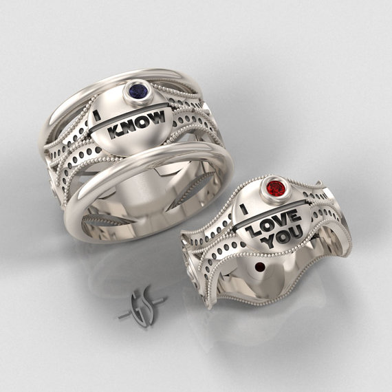 Geeky Wedding Rings 2