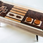 Functional Wooden Nintendo Controller Coffee Table!