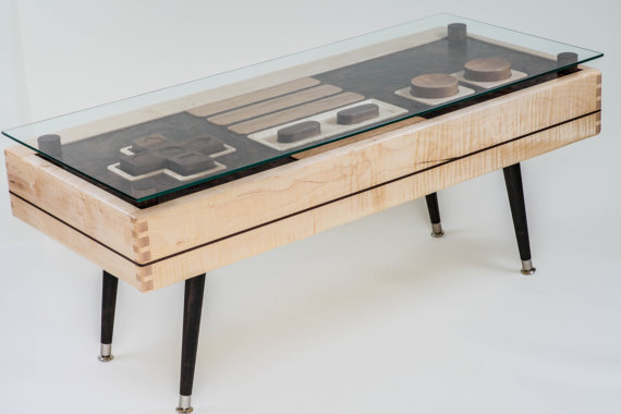 Nintendo Controller Coffee Table 4