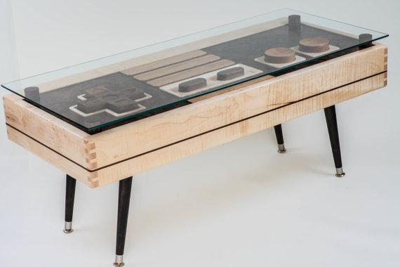 Nintendo Controller Coffee Table 4
