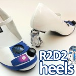 DIY Star Wars R2-D2 Heels With Blinking Lights – Amazing!!