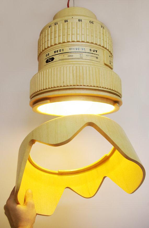 Wooden Hanging Lamp 1
