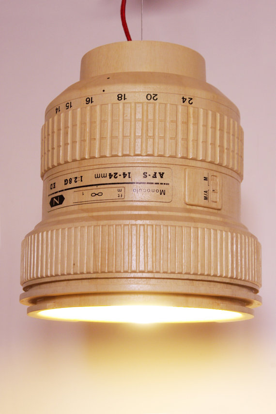 Wooden Hanging Lamp 3