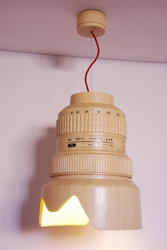Wooden Hanging Lamp 4