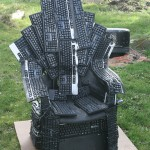 Games of Thrones: Thrones of Nerds Made Form Computer Keyboard!