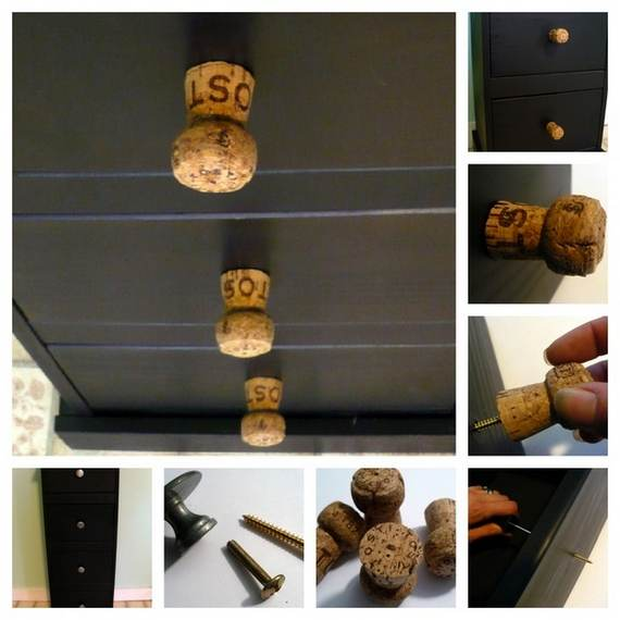 now you can decorate your home with corks - 24 pics!