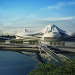 Modern Art Center Unveiled in China By Zaha Hadid!