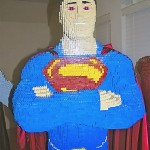 Lego Superman Built By A Teenager Named Evan Bacon!