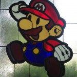 Amazing Paper Super Mario Bros Goes The Stained Glass Way!
