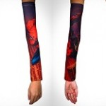 Superhero Tattoo Sleeves Help Avoid Pain!